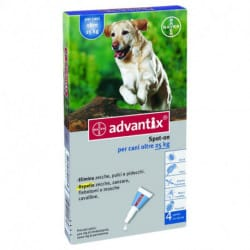 Bayer Advantix Spot-On antiparassitario per cani