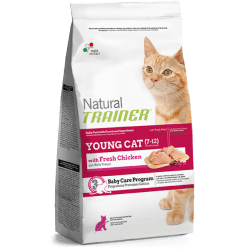 Trainer Natural Young Cat crocchette per gatti