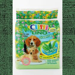 Cliffi Lino Green Tea tappetini assorbenti per cani