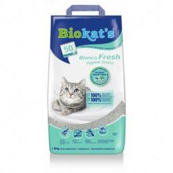 Biokat's Bianco Fresh lettiera profumata in argilla per gatti