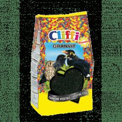 Cliffi Granvit pastoncino con carbone per uccelli insettivori