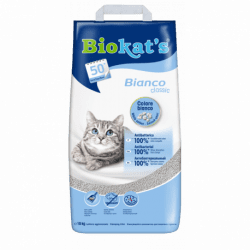 Biokat's Bianco Classic lettiera in argilla per gatti