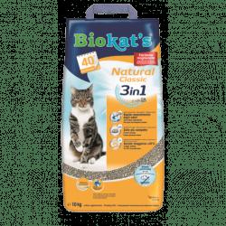 Biokat's Natural Classic lettiera in argilla per gatti