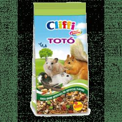 Cliffi Toto' alimento per criceti, scoiattoli, topolini, gerbilli