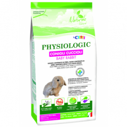 Cliffi Physiologic-alimento per conigli cuccioli