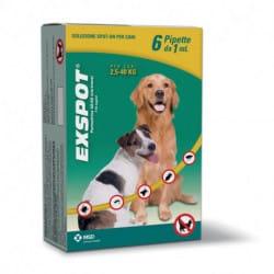 Exspot Spot-on antiparassitario cani