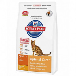 Hill's Science Plan Feline Adult Optimal Care in crocchette
