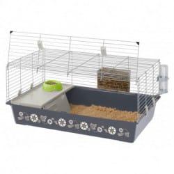 Ferplast Rabbit 100 Decor-Gabbia per conigli e porcellini d'india