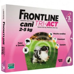 Frontline Tri-act spot on cani