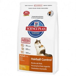 Hill's Science Plan Feline Adult Hairball Control in crocchette