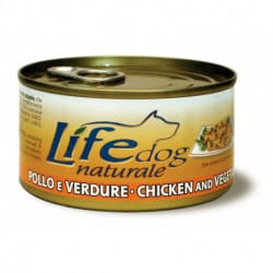 Lifedog Natural lattine 170gr alimento umido per cani