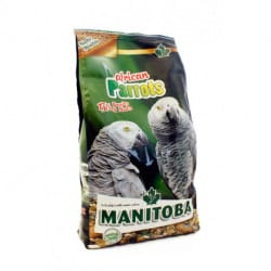 Manitoba African Parrots-alimento per pappagalli africani