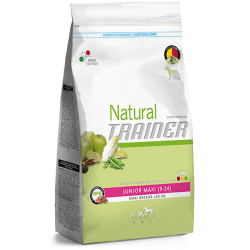 Trainer Natural Junior Maxi con Pollo fresco crocchette per cani