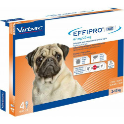 Virbac Effipro Duo Spot-on antiparassitario cani