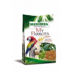 Manitoba My Parrots Unico-alimento per pappagalli