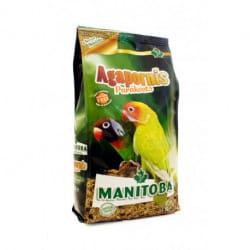 Manitoba Agapornis Parakeets-alimento per parrocchetti