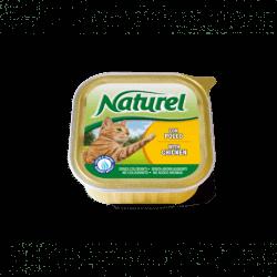 Naturelcat vaschetta 100gr alimento umido per gatti