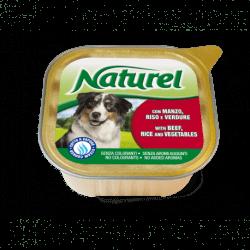 Natureldog vaschetta 300gr alimento umido per cani