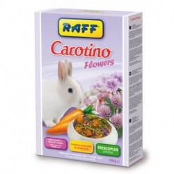 Raff Carotino Flowers-alimento per conigli nani